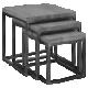 Столы и тумбы барбершоп