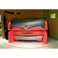 Горизонтальный солярий MEGASUN 6800 Super СА