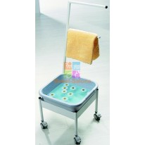 Мобильная ванночка для ног пластиковая Ionto Blue CA