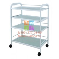 Столик косметологический (металл/стекло) - н05 СА