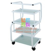 Столик массажный (металл/стекло) - н01 СА
