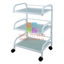 Столик массажный (металл/стекло) - н03 СА