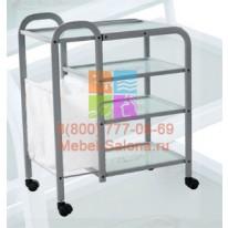 Столик массажный (металл/стекло) - н04 СА