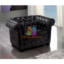 Кресло Dupen SF-24-1S Black СА