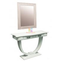 Рабочий стол стилиста+зеркало ВИНТАЖ СА