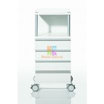 Косметологическая тумба CUBUS 400 с 4-мя ящиками CA