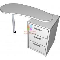 Маникюрный стол Fan СА