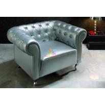 Кресло Dupen B-7 silver СА