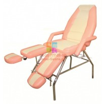 Педикюрно-косметологическое кресло СП Люкс Стандарт (каркас хром) СА
