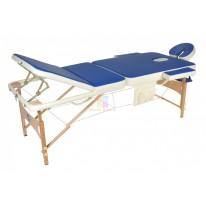 Массажный стол складной деревянный JF-AY01 3-х секционный М/К СА