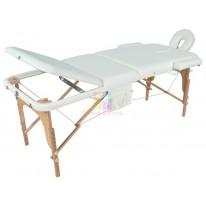Массажный стол складной деревянный JF-AY01 3-х секционный М/К (МСТ- 103Л) СА