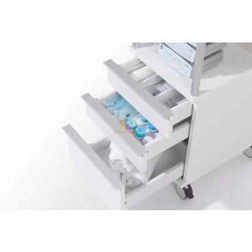 Косметологическая тумба CUBUS 400 с 3-мя ящиками CA