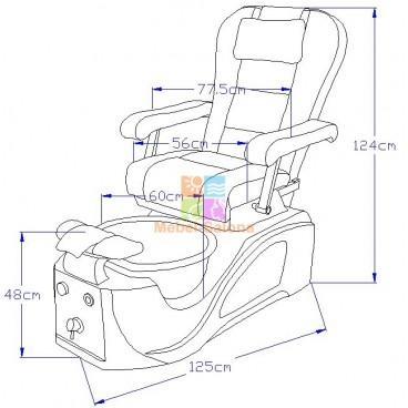 Педикюрное СПА кресло Smart СА